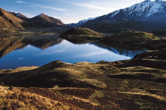 Lake Wanaka in New Zealand