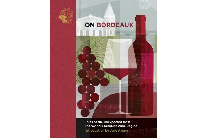 The front cover of the new On Bordeaux book