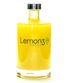 bottle of lemon3 limoncello