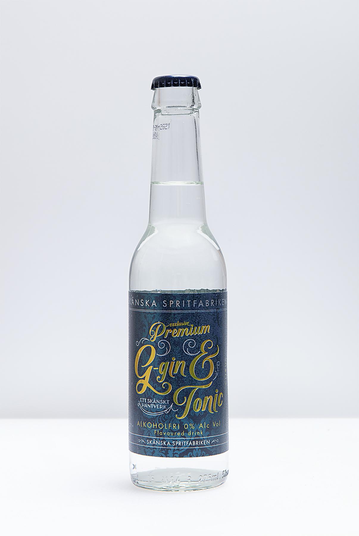 Citrus Non-Alcohol Gin & Tonic