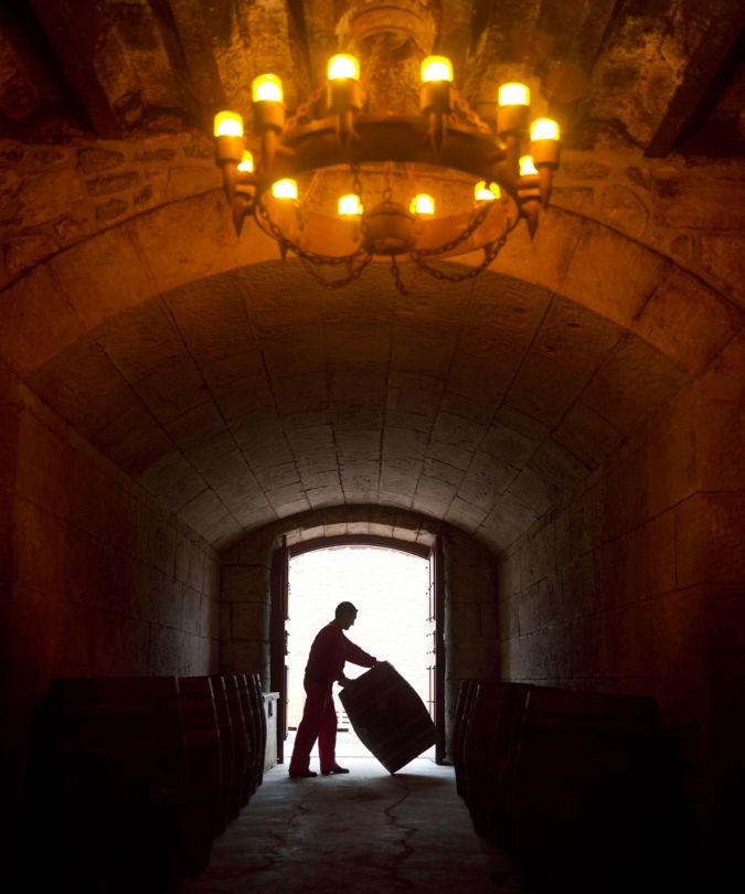 The Ygay cellar of Rioja's Marqués de Murrieta