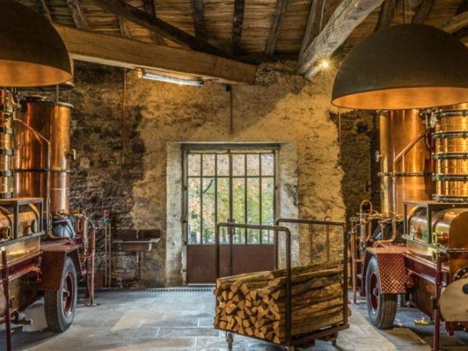 Chateau du Tariquet's distillery