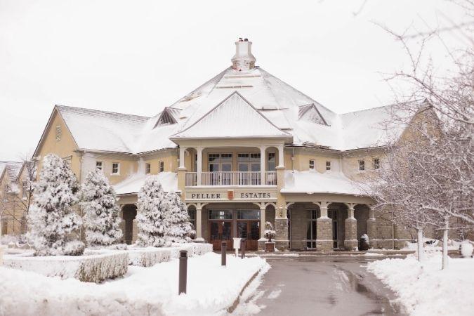 Peller Estate with Snow