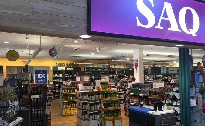 SAQ alcohol shop