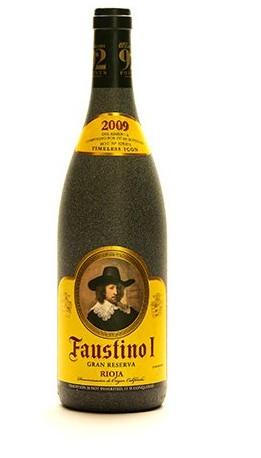 Bottle of Faustino Gran Reserva 2009