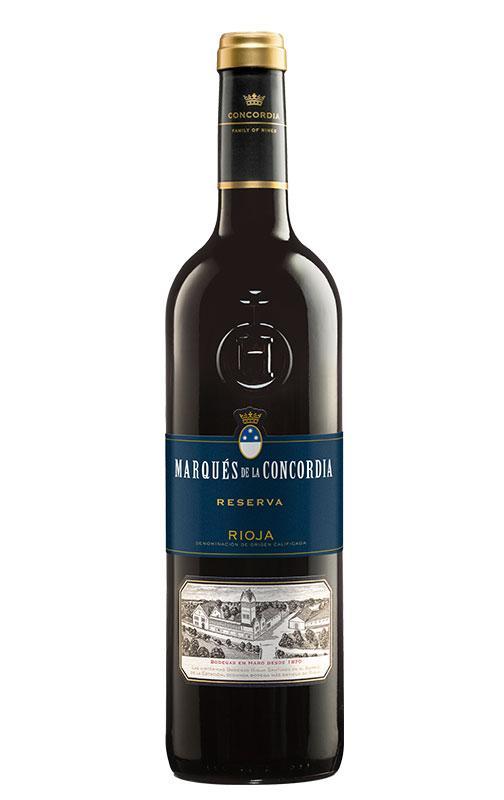 Bottle of Marqués de la Concordia Reserva 2015