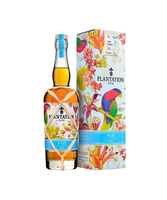 Bottle of Plantation Fiji rum