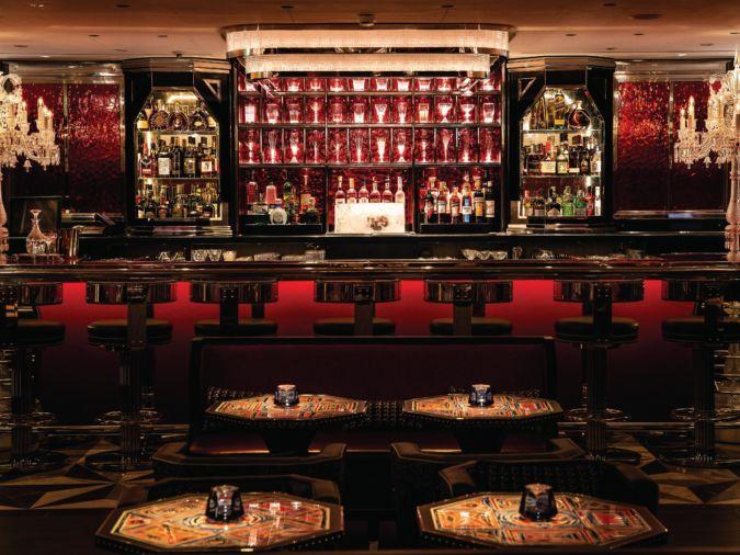 Baccarat Bar at Harrods