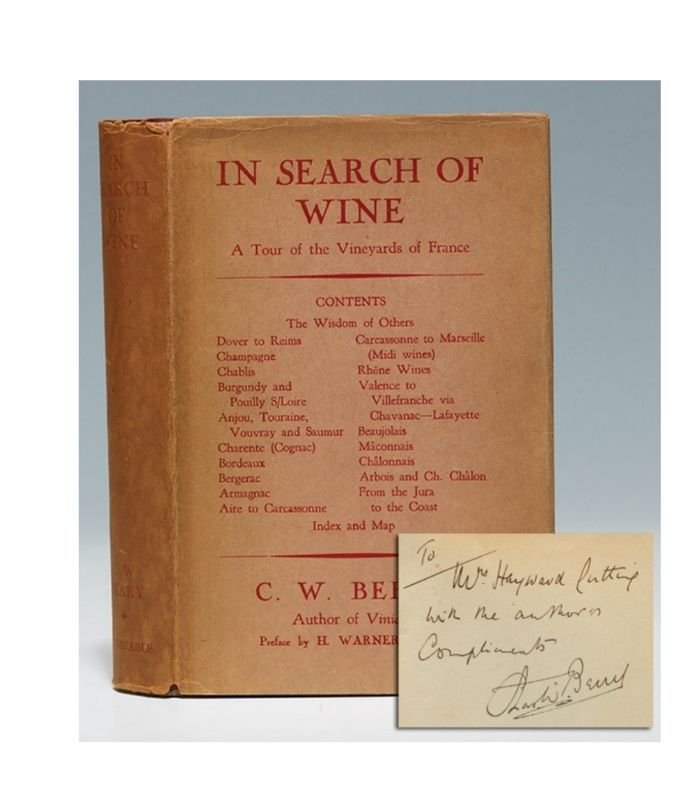 In Search of Wine book