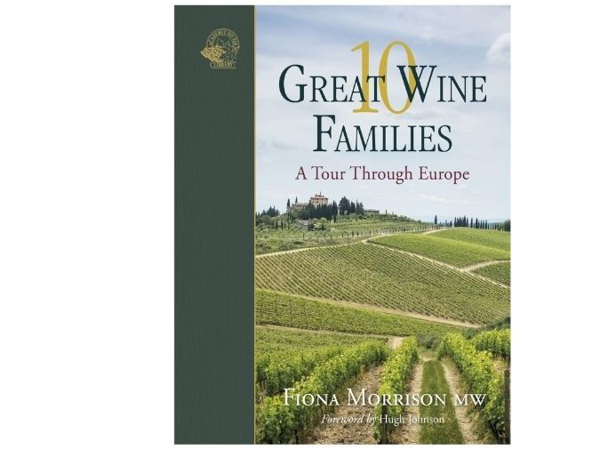 10 Great Wine Families front cover