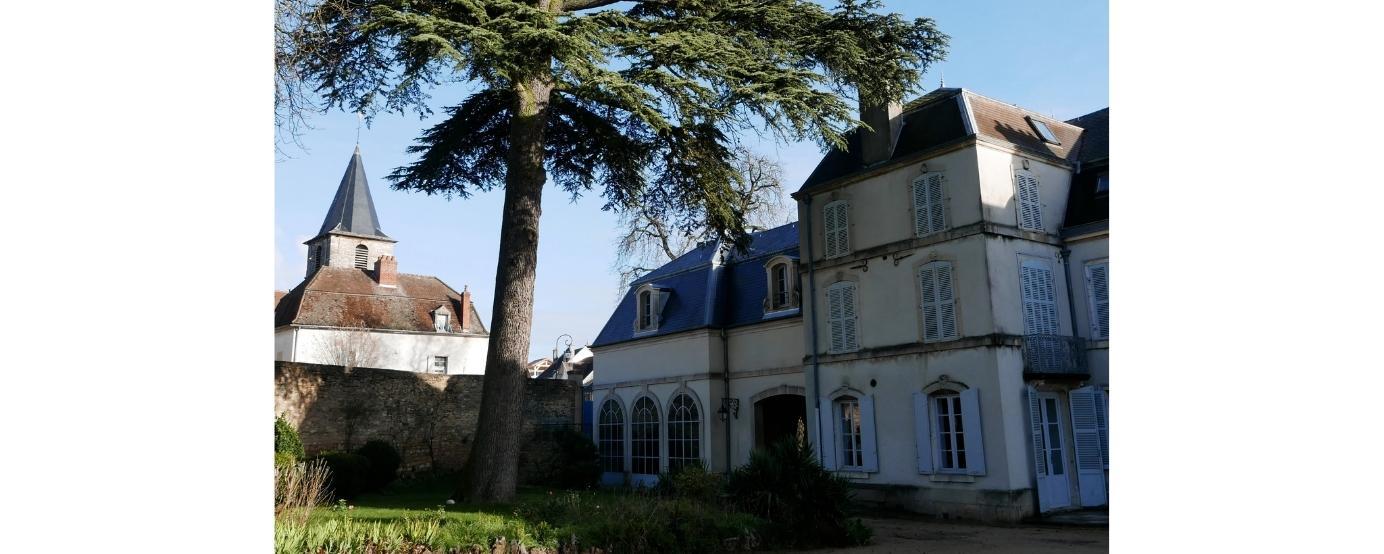 Main house of Domaine du Comte Liger-Belair
