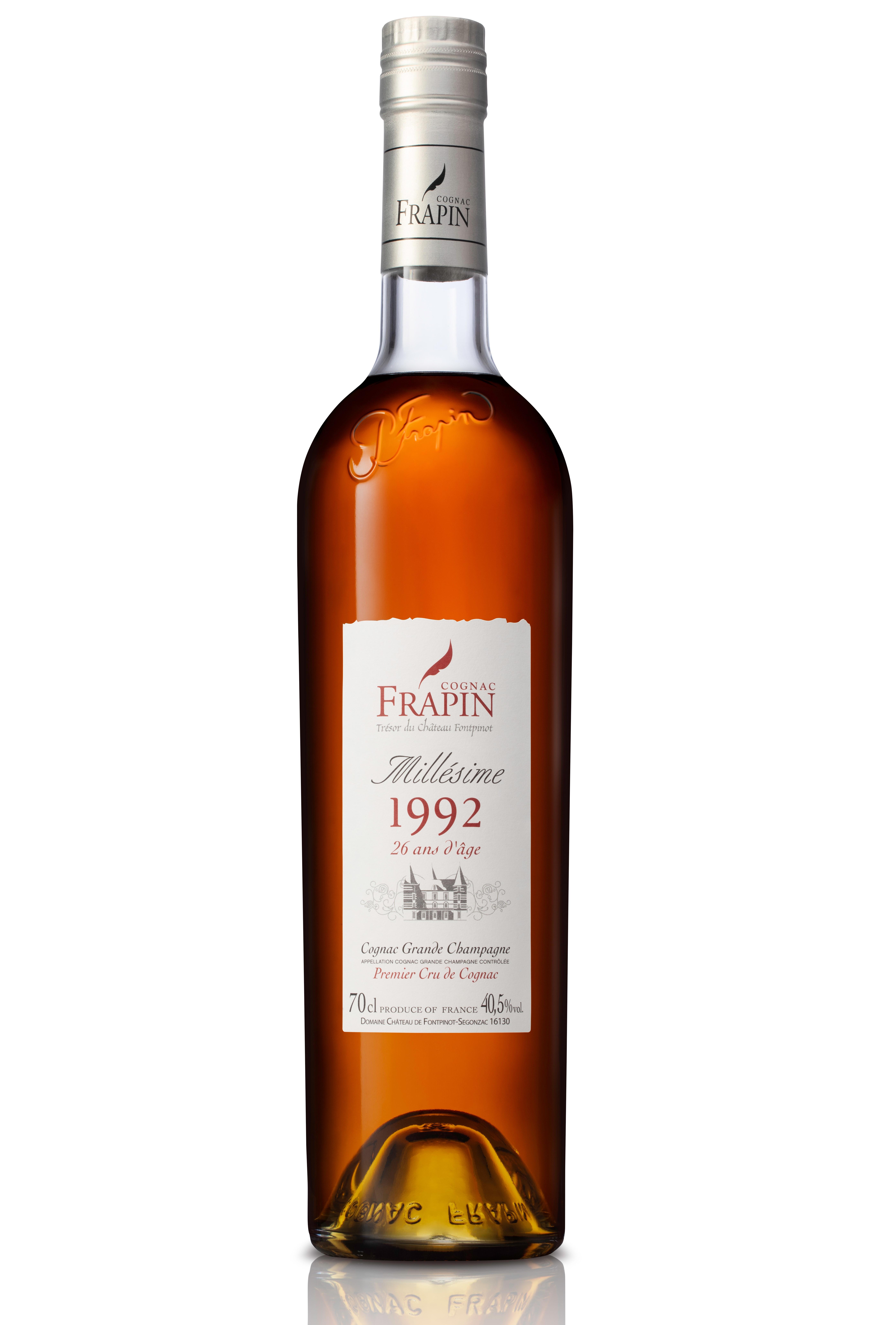 bottle of frapin vintage 1992