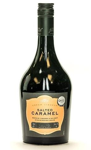 Tesco Salted Caramel bottle