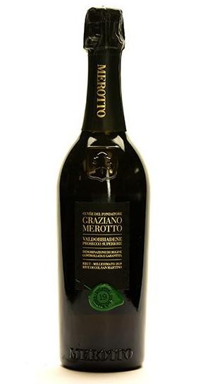 bottle of Cuvée del Fontadore Rive di Col San Martino Brut 2019