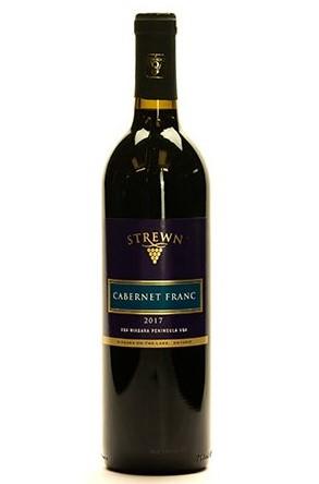 Strewn Cab Franc bottle