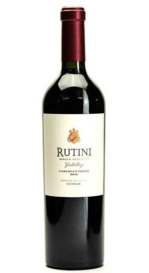 Rutini Cab Franc bottle