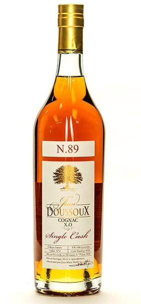 Bottle of ean Doussoux Single Cask N°89