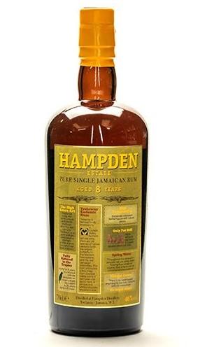 Hampden rum bottle
