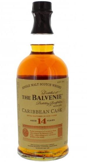 Balvenie 14 bottle
