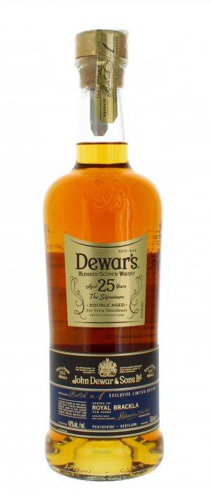 Dewars 25 bottle