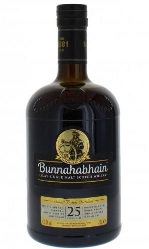 Bunnahabhain 25 bottle
