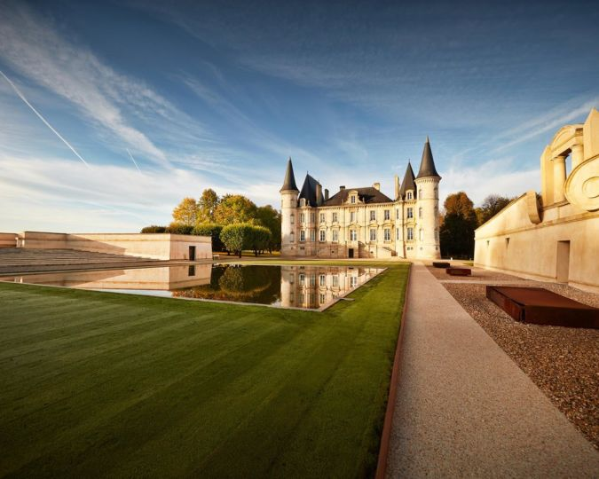 Chateau Pichon Baron as photographed by Serge Chapuis