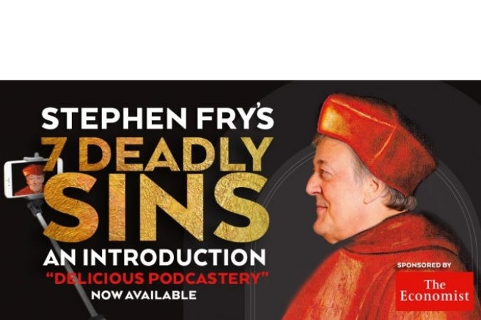 Stephen Fry's 'Seven Deadly Sins' podcast