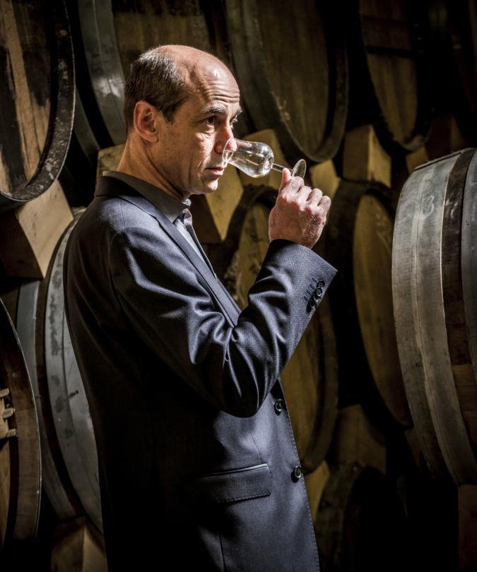 Patrice Piveteau, cellar master of Frapin