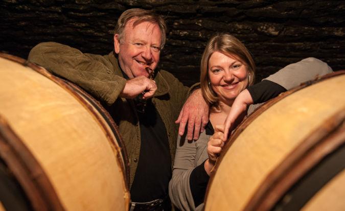 Burgundy winemakers Patrick + Marion Javillier