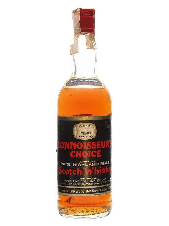 37 Year Old Connoisseur's Choice, (distilled 1939)