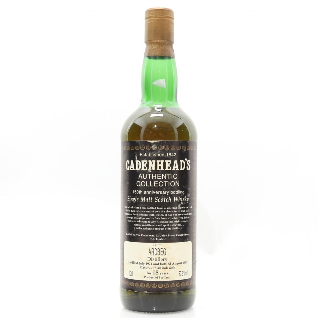 18 Year Old Cadenhead's, (distilled 1974)