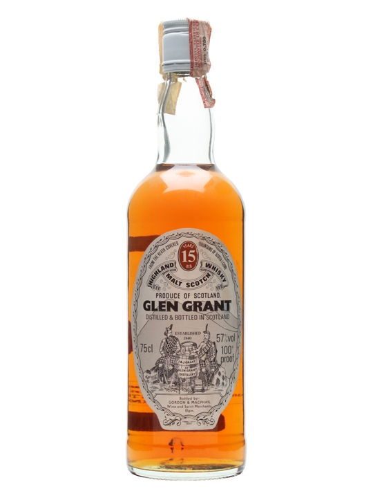 15-Year-Old, 100% Proof, (distilled 1970s)