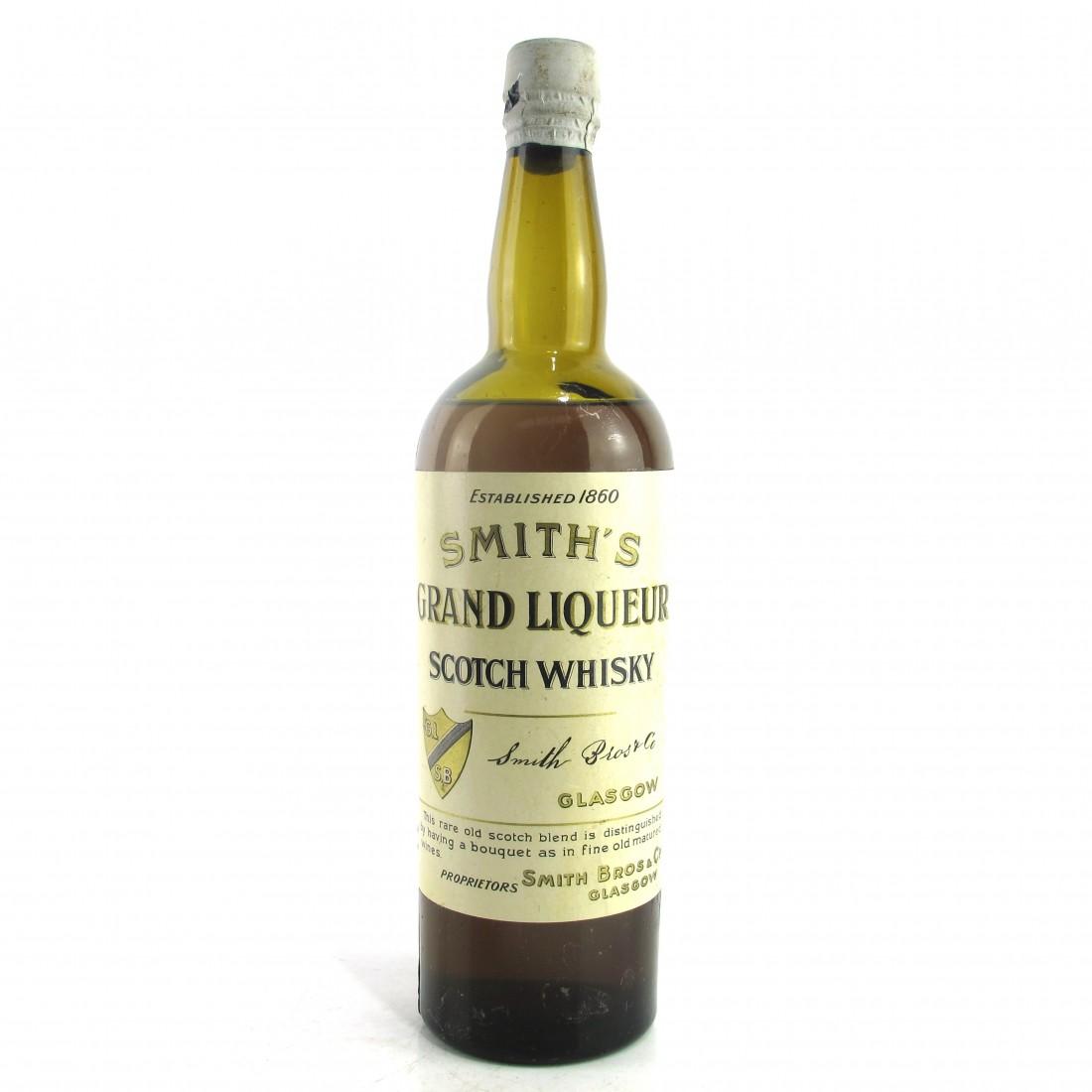 Grand Liqueur Scotch Whisky, Pre-1910