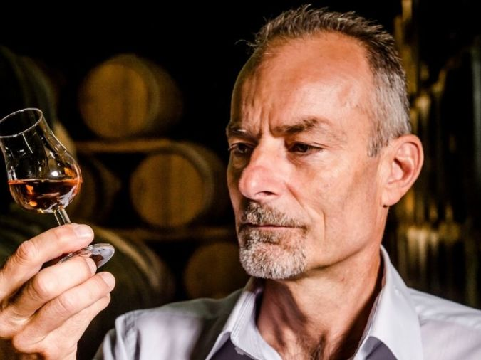 Eric Forget, Cellar Master at Hine Cognac