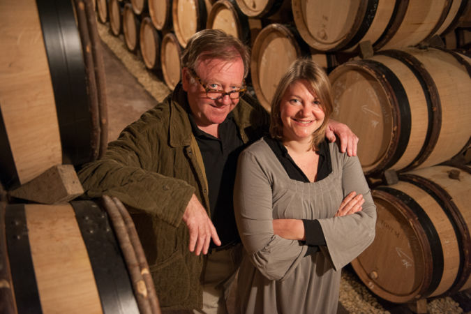 Burgundy 2019 producers Patrick and Marion Javillier