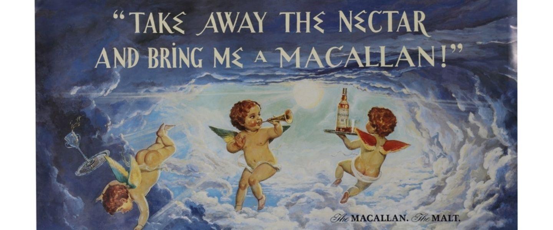 Macallan 1980s advert
