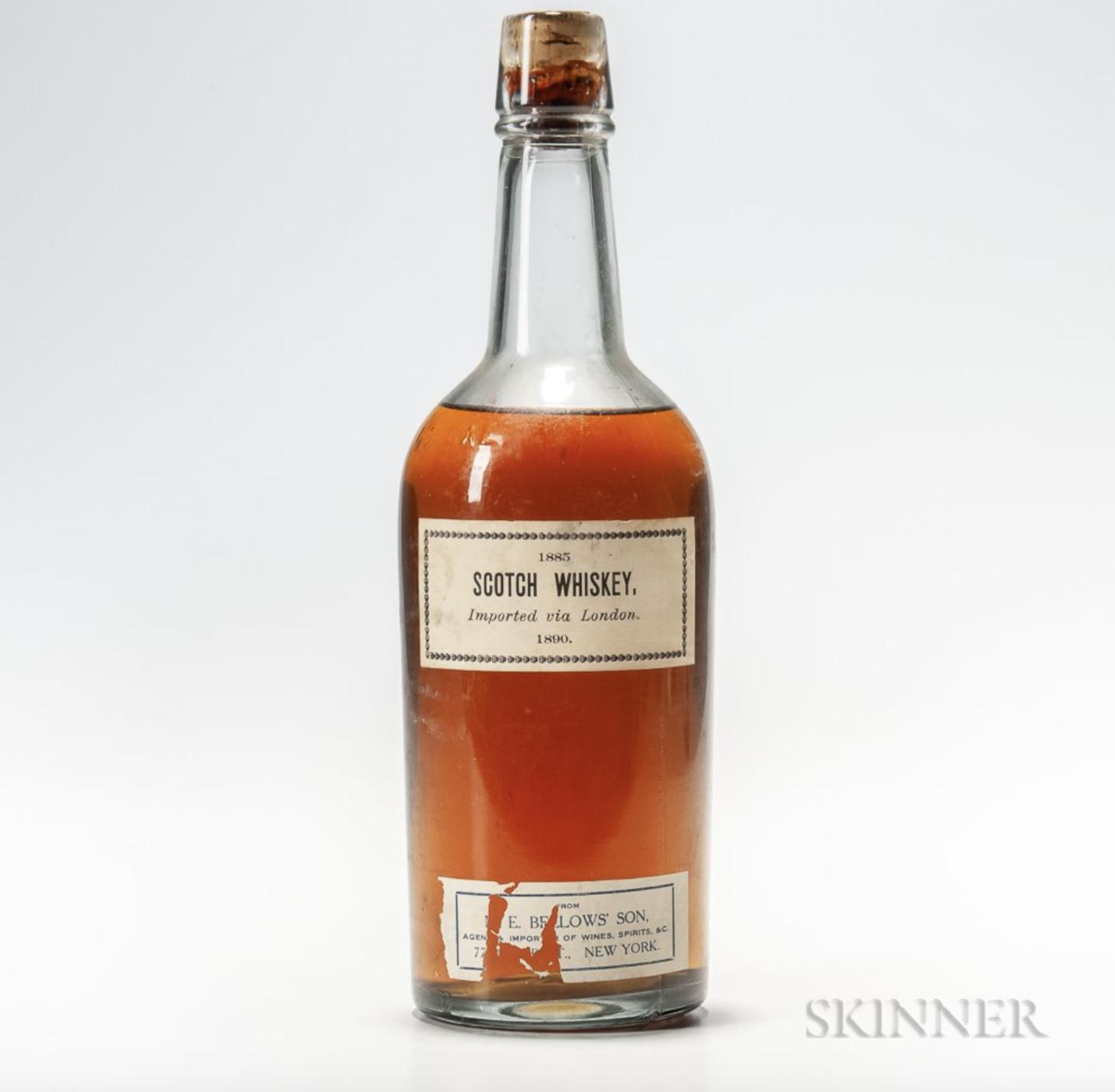 Scotch whisky 1885