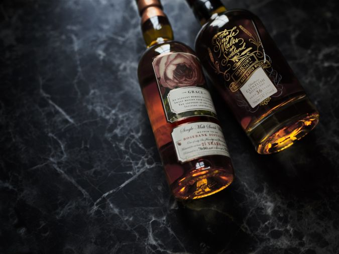 Rare whisky for whisky collectors