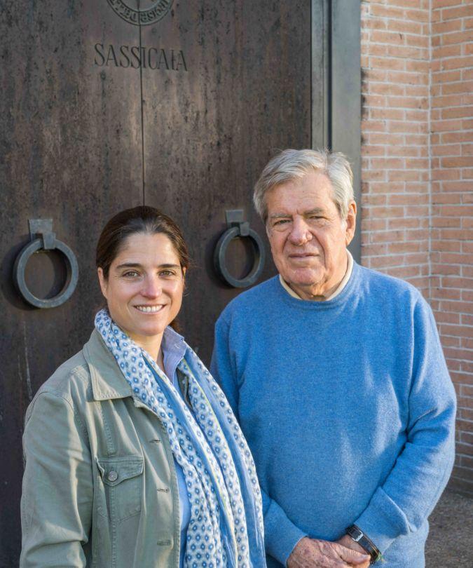 Tenuta San Guido brand ambassador Priscilla