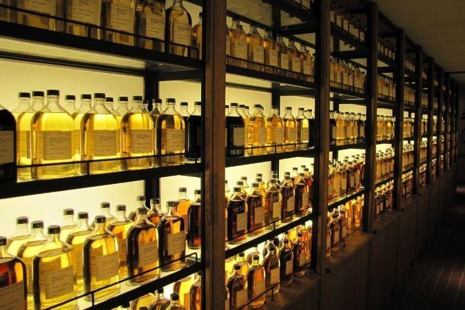 Yamazaki liquid library – Japanese whisky