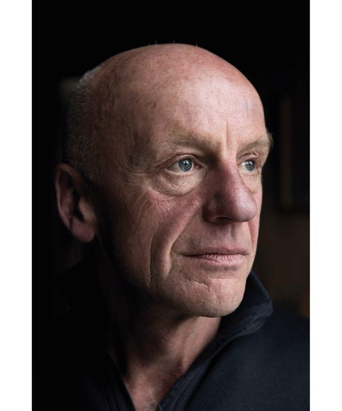 Egon Müller portrait of straight face