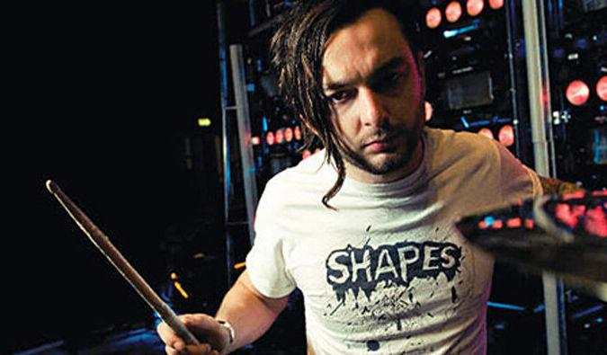 Leo Crabtree Prodigy drummer