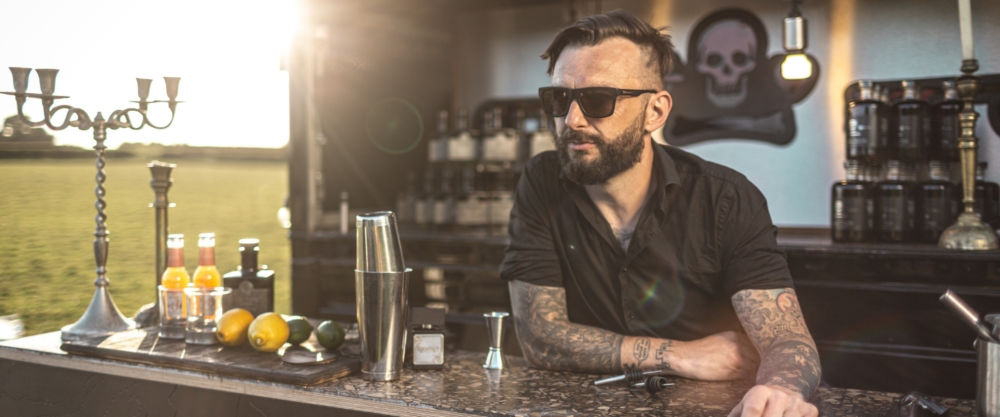 Leo Crabtree – perfumer, distiller and Prodigy drummer