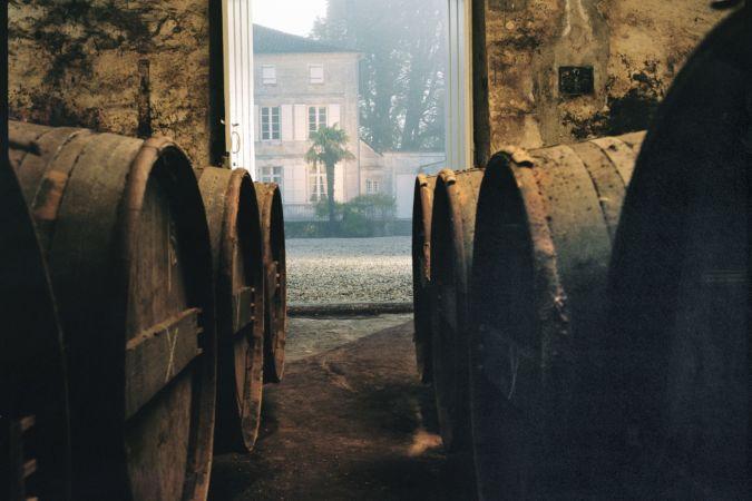 Remy Martin Cognac cellar