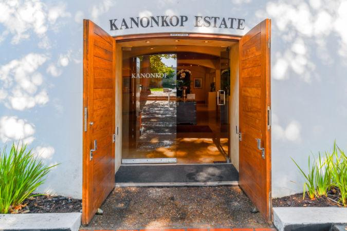 Kanonkop Estate cellar entrance