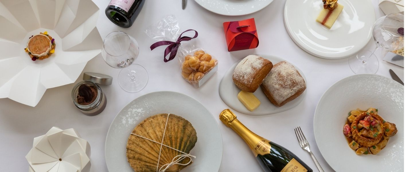 Best UK restaurant at-home dining kits – Hélène Darroze at The Connaught
