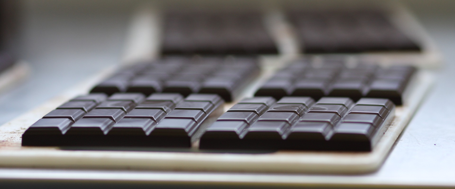 Carft chocolate bars are on delivery from Pump Street Chocolate