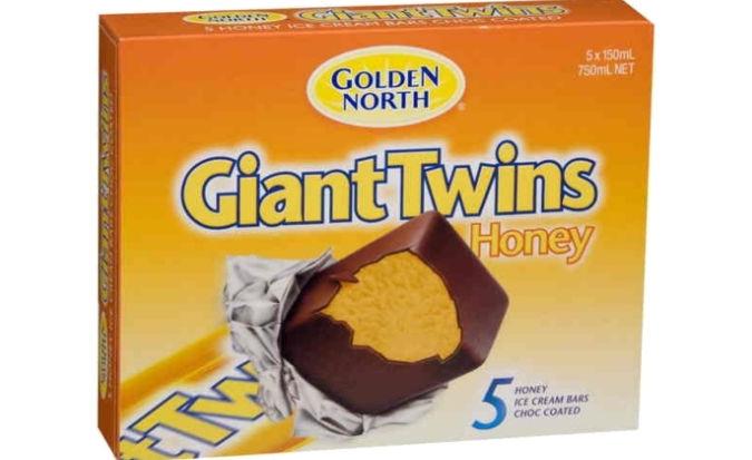 Giant Twins ice cream