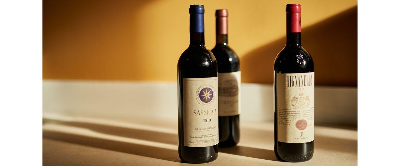 Super Tuscans - Italian wines