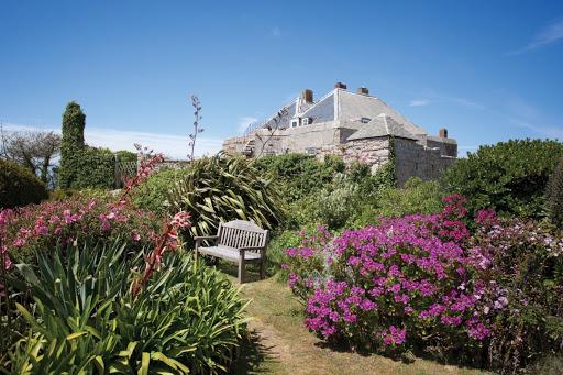 Star Castle Hotel gardens